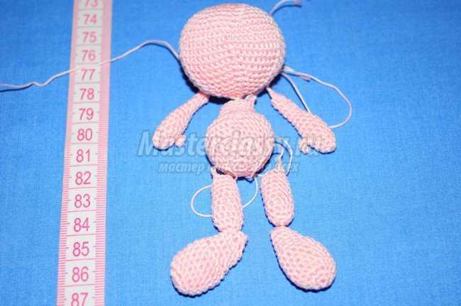 Связать куклу крючком мастер класс с пошаговым