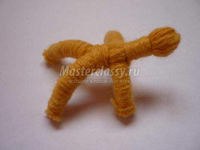 Вязаные игрушки мастер класс с пошаговым