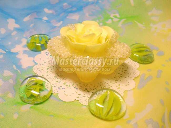 Мыло своими руками Нежность с жемчугом