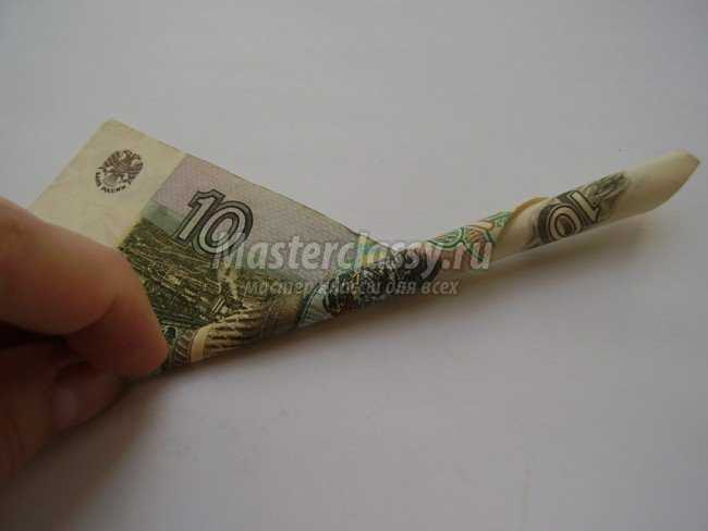 Подарок на свадьбу. Картина из денег
