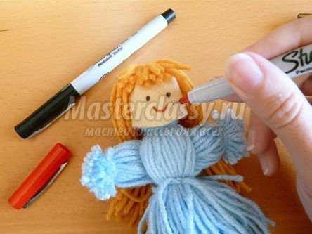 Как сделать куклу своими