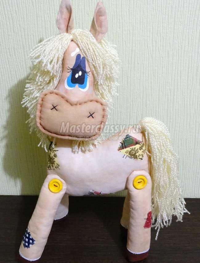 Лошадка своими руками