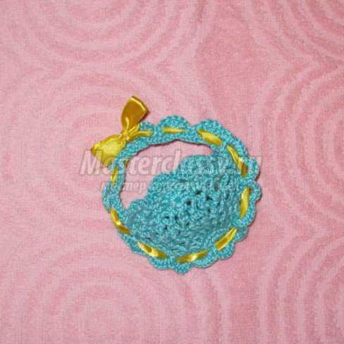 Пасхальное вязание крючком