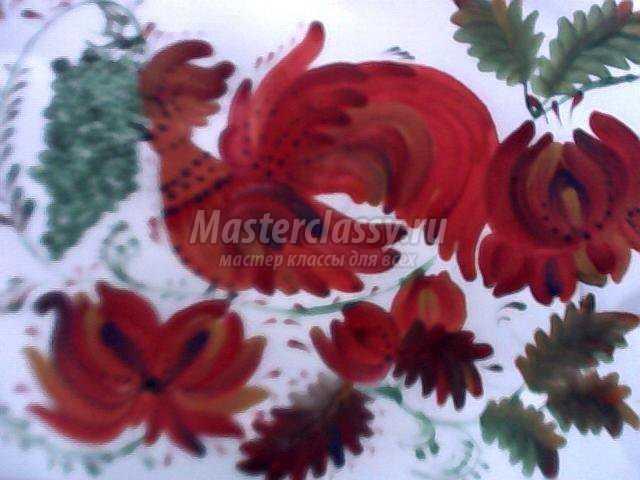 Мастер-класс по петриковской росписи