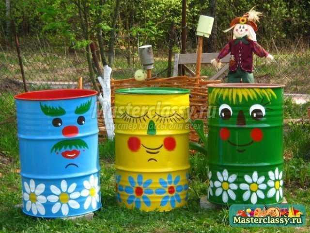 Оригинальные идеи для сада своими руками
