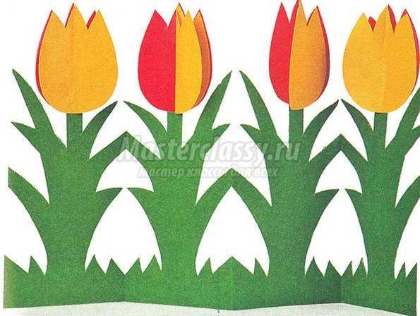 Весенние поделки из бумаги вместе с детьми