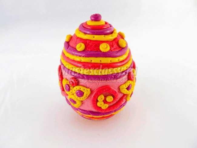 Пластика. Пасхальное яйцо