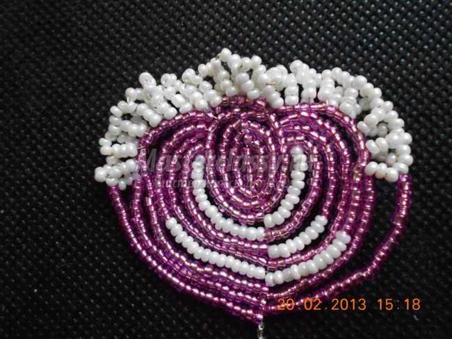 Цветы из бисера. Гибискус