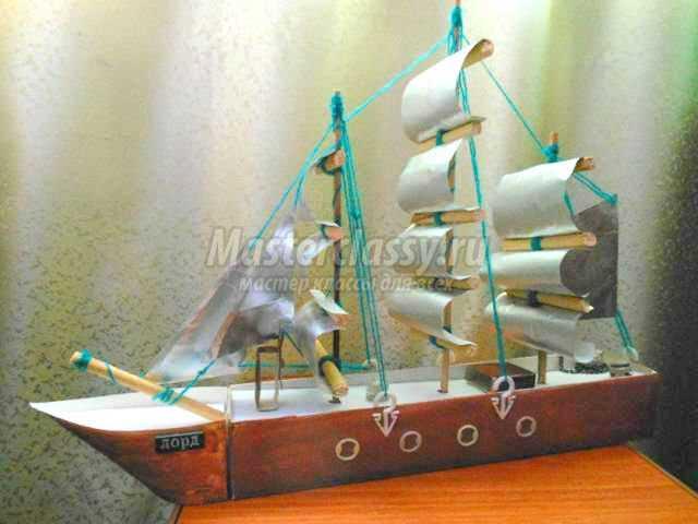 Кораблик своими руками - 5 проектов с детьми