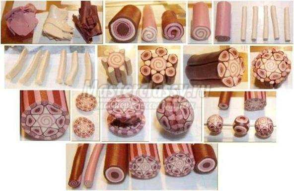 Полимерная глина. Цветы».