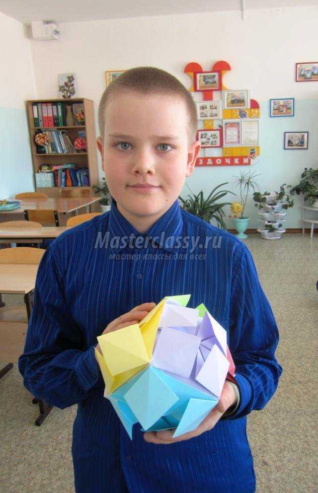 Ученик из шаров своими руками