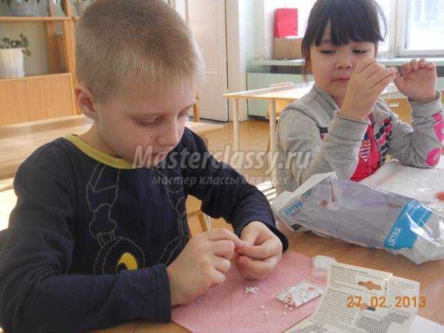 детские поделки из бисера