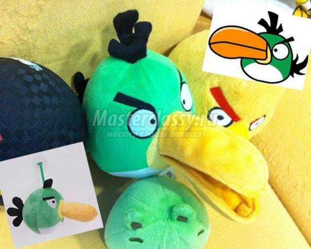 """Мягкая игрушка """"Angry Birds"""" своими руками. Мастер класс с пошаговыми фото. Обсуждение на LiveInternet - Российский Сервис Онлай"""