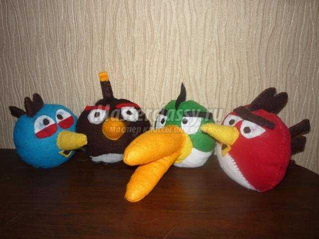 мягкая игрушка. Angry Birds