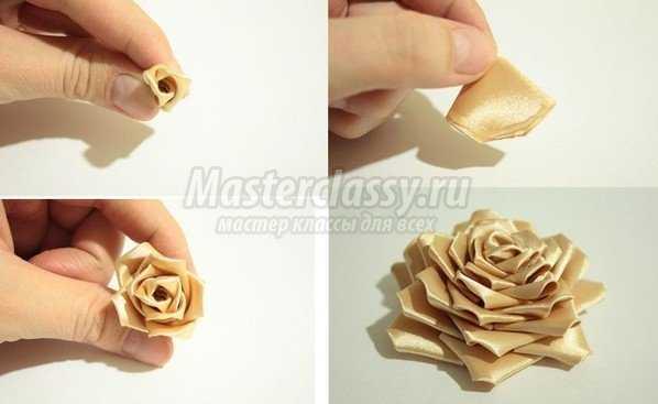 по изготовлению розы можно
