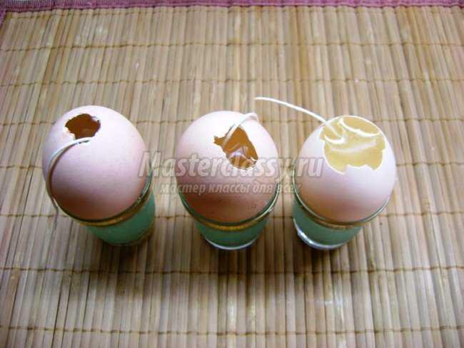 Форма для яиц своими руками