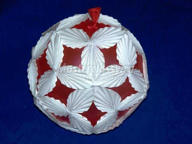 Кусудама «Воздушный шар»
