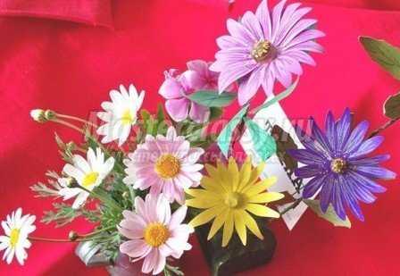 Цветы из бумаги. Мастер класс