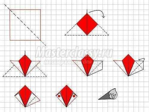 Оригами цветов из бумаги своими руками