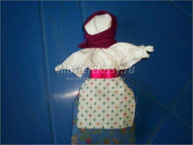 Кукла тряпичная своими руками с фото пошагово