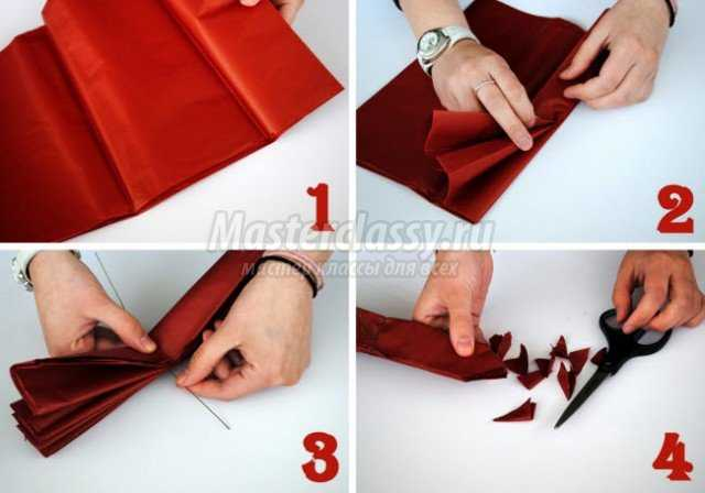 Бумажный помпон своими руками