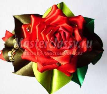 канзаши роза