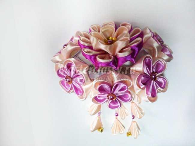 канзаши цветы
