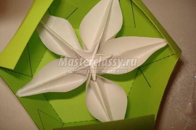 Коробочка для подарка на крестины