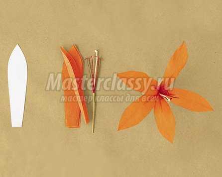 Мастер класс гофрированные цветы