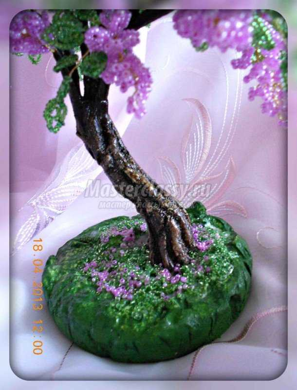 Бисерные цветы с пошаговым фото.