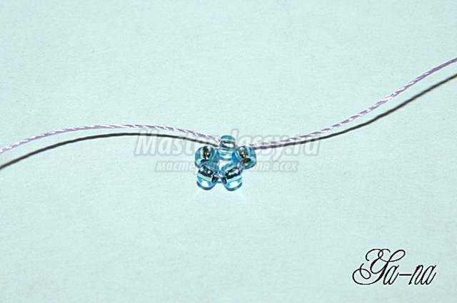 Бисероплетение схемы колокольчики цветы - Делаем фенечки своими руками.