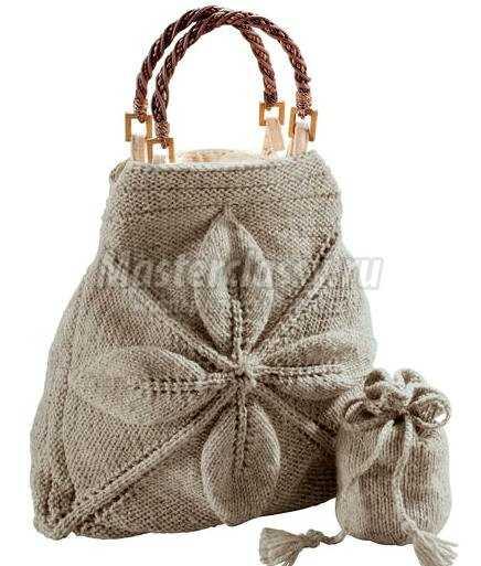 Вязаная сумочка своими руками