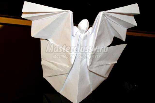 оригами. Ангел доброй вести