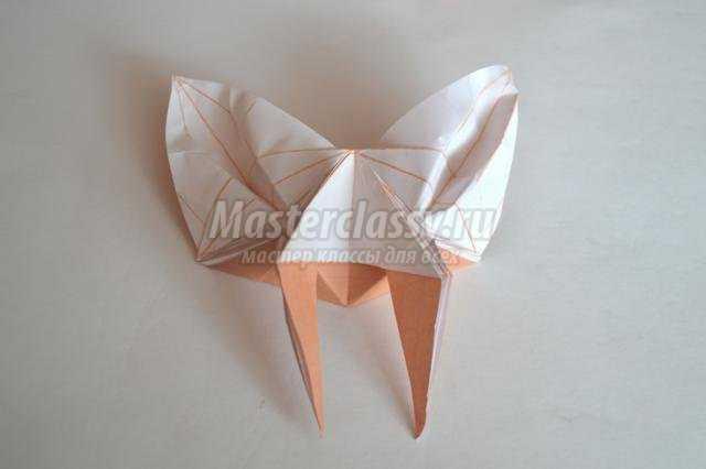 Оригами бабочка. Мастер класс с пошаговыми фото