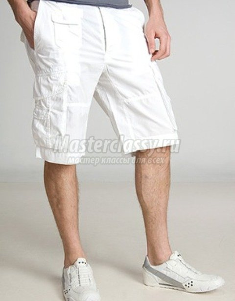 Скачать выкройка мужских шорт на резинке