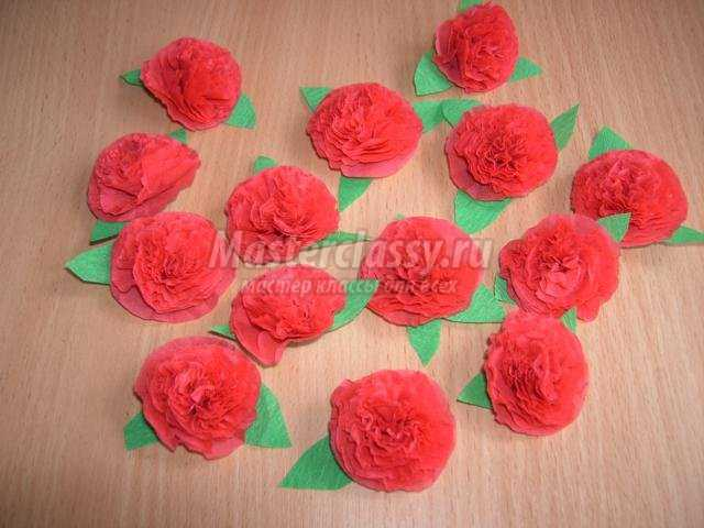 Тюльпан из бумаги своими руками с конфетой пошаговое фото 638