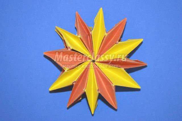 оригами игрушка-трансформер.