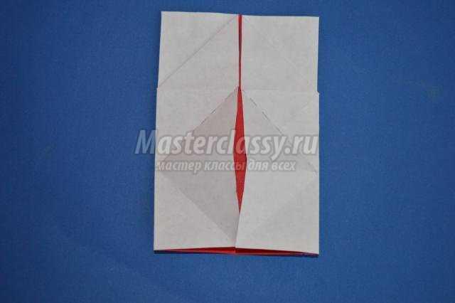 оригами.  Сердце с крыльями.