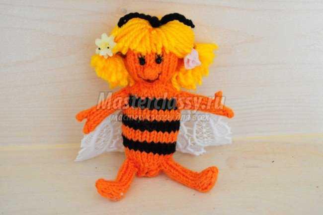 Вязание игрушек. Пчелка Майя