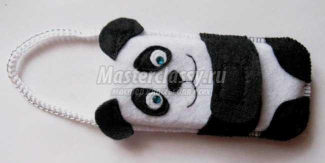 Чехол на телефон своими руками панда