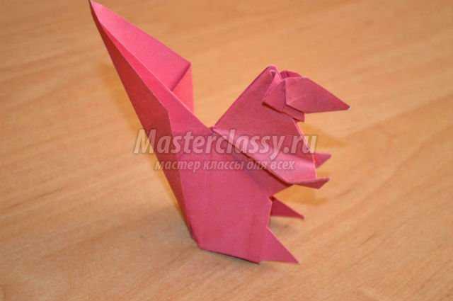 оригами животные. Белка