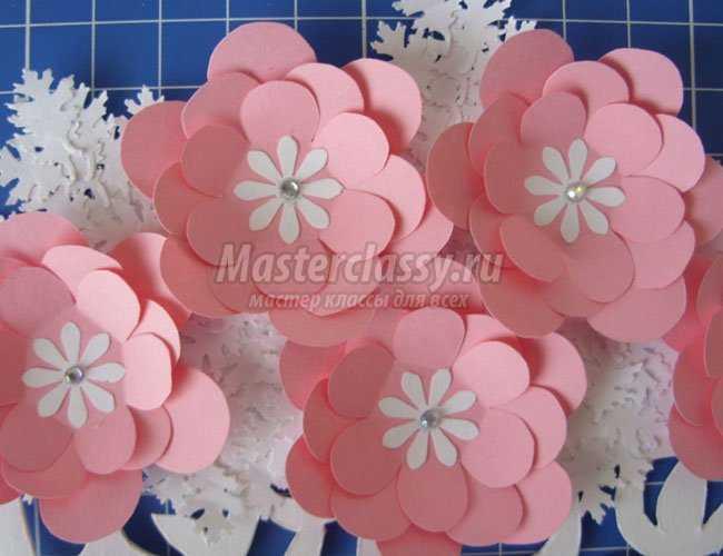 Цветы из бумаги а4 своими руками пошаговое фото
