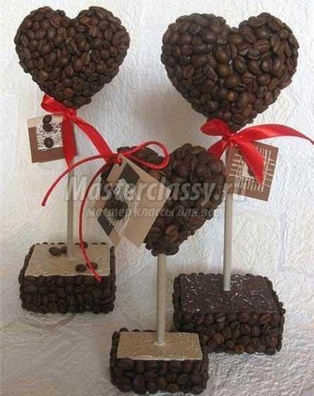 Кофейные топиарии