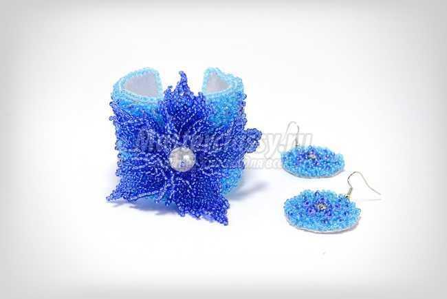 Плетение цветов из бисера по японской технике предоставляет массу возможностей для .  Древнее только снизки (в...