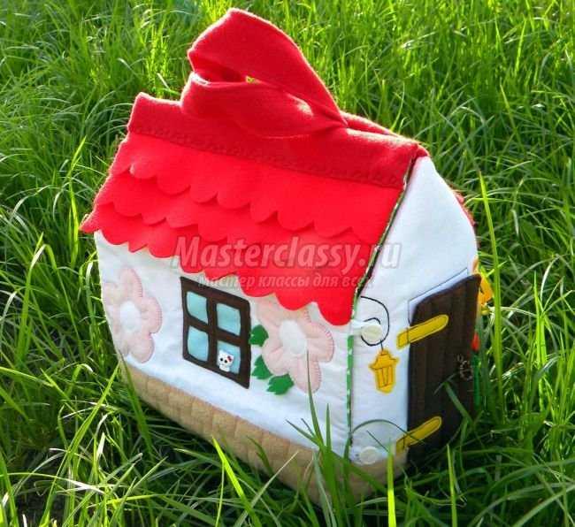 Сумка-домик своими руками