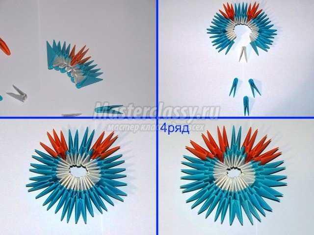 Модульное оригами Матрешка