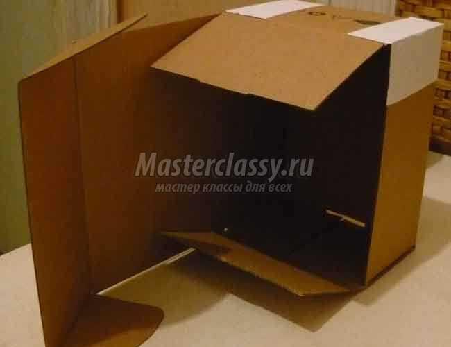Как сделать пиратский сундук из картона своими руками