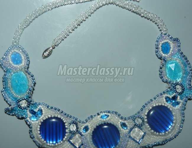 ожерелье из бисера анастасия мастер-класс.