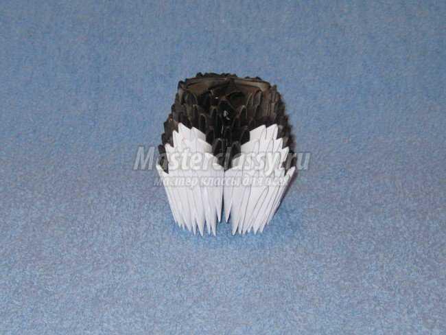 Микки Маус. Модульное оригами