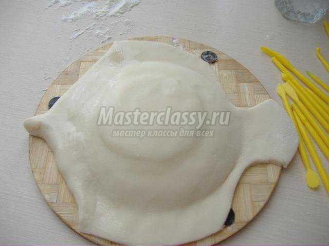 Тесто соленое для объемных поделок рецепт